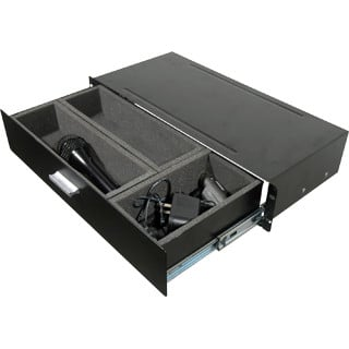 Grundorf Corp 75-110  2RU Rack Drawer for Wireless 75-110