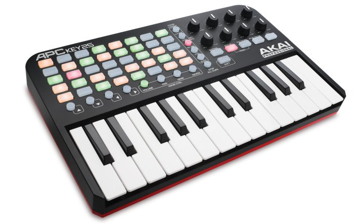 25-Key MIDI Controller for Ableton Live