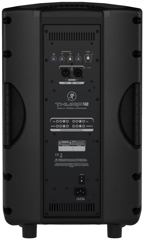 """12"""" 1000W (Peak) 2-Way Powered Loudspeaker"""