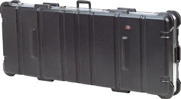 Low Profile ATA Case with wheels, 52 x 16 x 3
