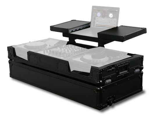 GSX Glide-Style DJ Coffin Case in Black