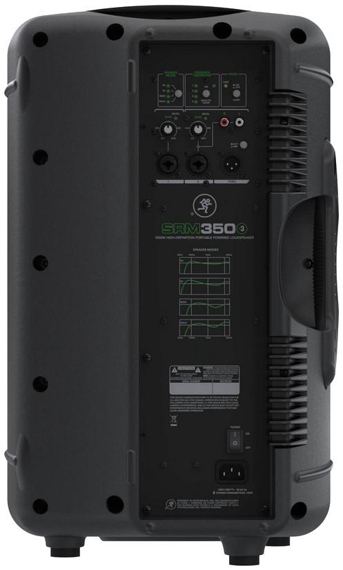 """1,000 Watt 10"""" 2 Way Biamped Portable Powered Loudspeaker"""