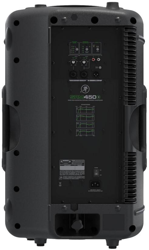 "Mackie SRM450 v3 2-Way, 12"" 1,000 Watt Biamped Portable Powered Loudspeaker SRM450-V3"