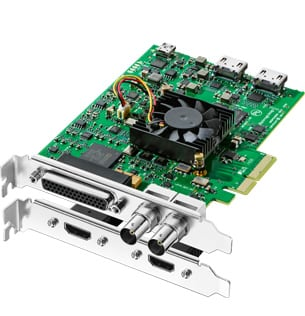 DeckLink Studio 4K Video Capture and Playback Card with 6G-SDI, HDMI 4K and Analog