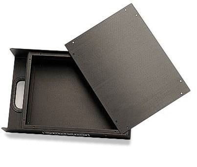 Unpunched Box in Black