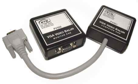 Active RGBHV to VGA Baluns