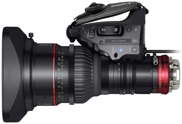 CN7x17 KAS S Cine-Servo 17-120mm T2.95 Lens, PL Mount