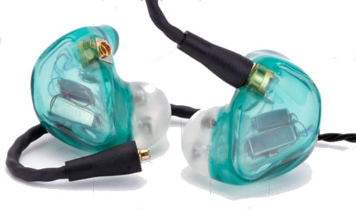 Custom Fit 2 Way In Ear Monitors with Dual Balanced Armature Drivers