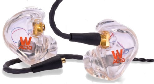 Custom Fit Clear In Ear Monitor with Dual Balanced Armature Drivers