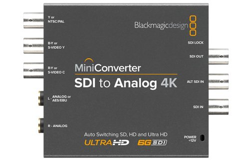 SDI to Analog 4K Mini Converter