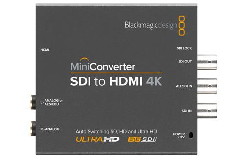SDI to HDMI 4K Mini Converter