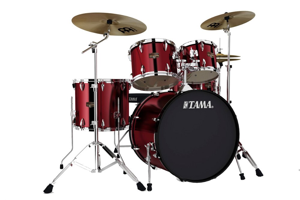 5-Piece Imperialstar Drum Set with Meinl Cymbals and Hardware