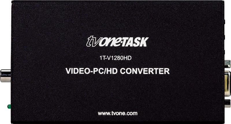 Analog PC/HD Upconverter