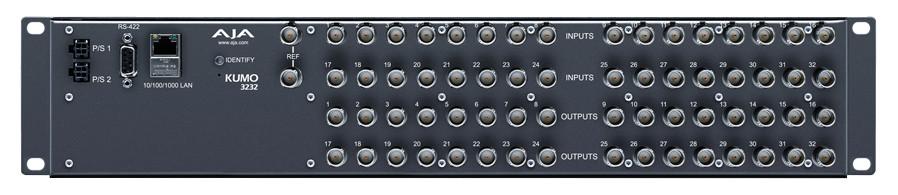 AJA Video Systems Inc KUMO-3232 32 x 32 Compact SDI Router KUMO-3232