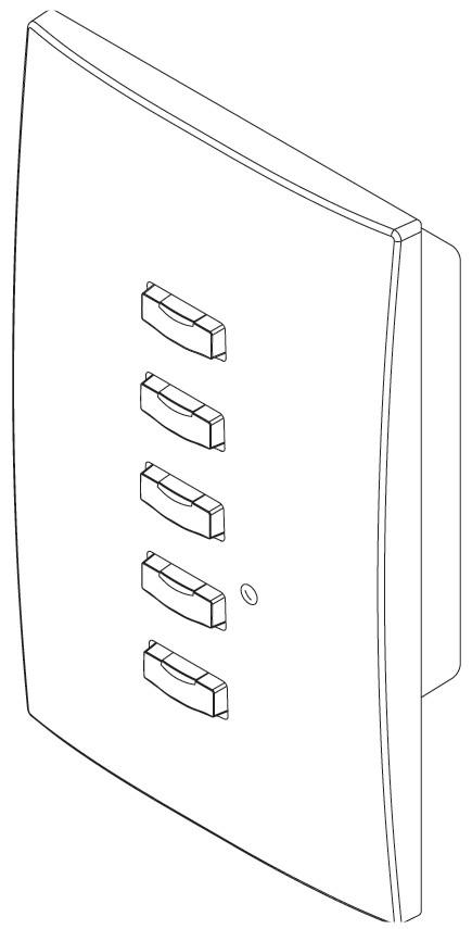 5 Button SmartLink Station in Ivory
