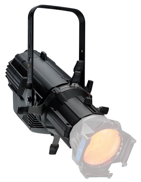 Source Four LED Series 2 Lustr Light Engine with Shutter Barrel and Edison Connector in Black