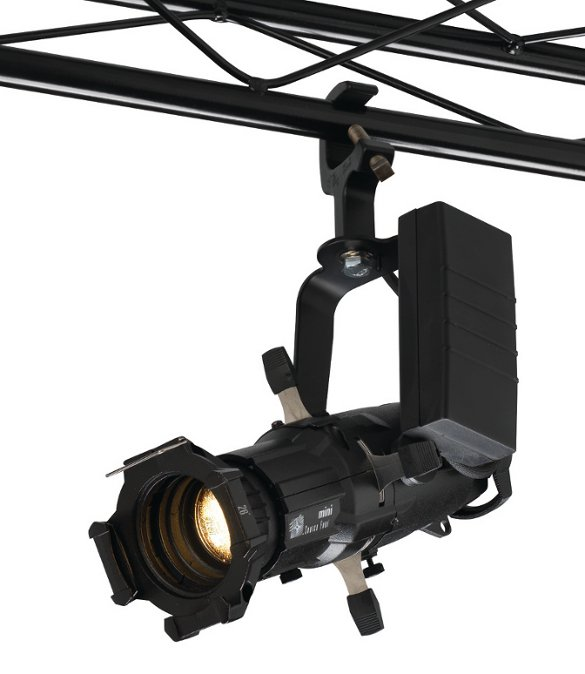 Portable Source Four Mini LED with 50° Field Angle in Black