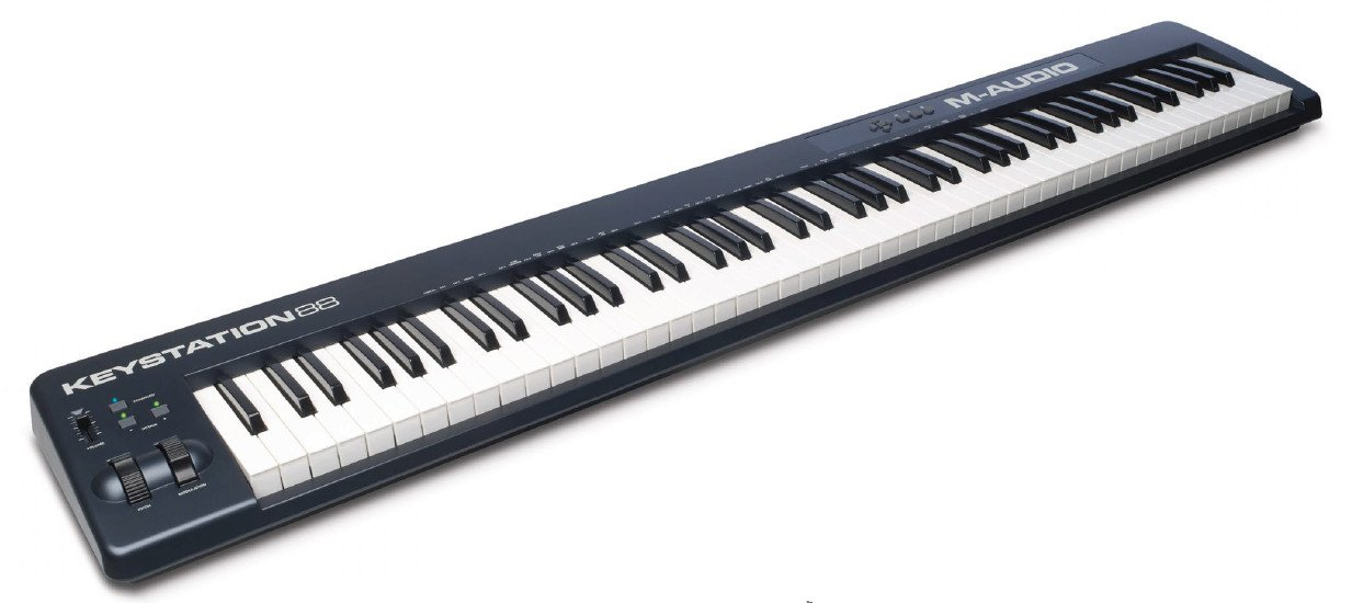 m audio keystation 88 88 key midi controller full compass. Black Bedroom Furniture Sets. Home Design Ideas