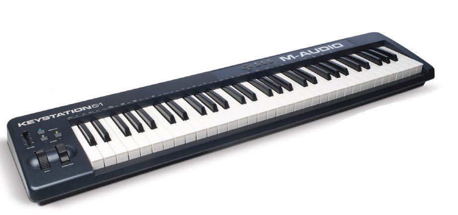 M-Audio Keystation 61 61-Key USB MIDI Controller KEYSTATION-61-II