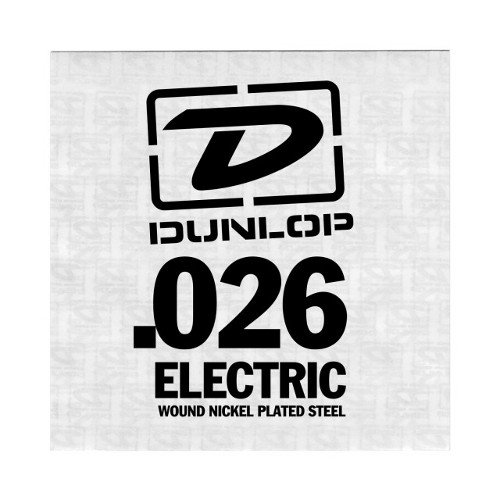 "Dunlop Manufacturing DEN26 Single .026"" Nickel Wound Electric Guitar String DEN26"