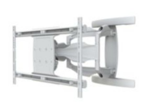 """SmartMount Antimicrobial Articulating Wall Arm for 50""""-80"""" Displays in White"""