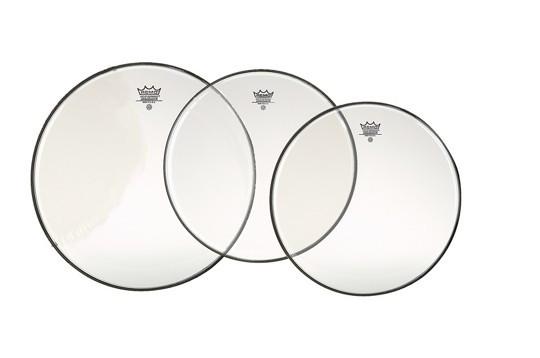 "Clear Emperor Standard Drumhead Pack: 12"",13"",16"""