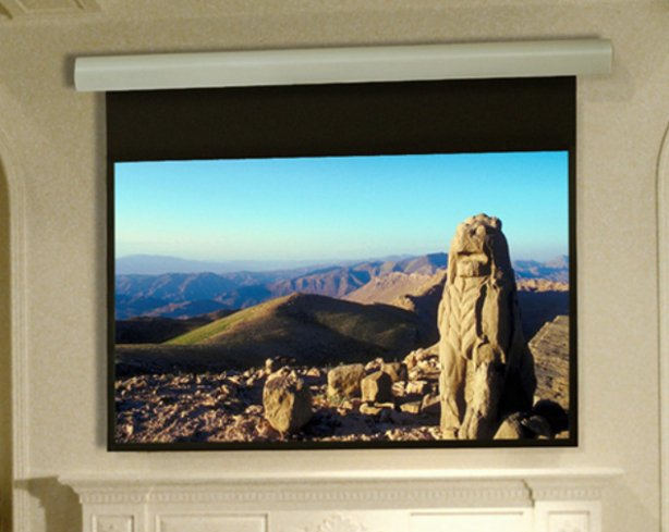 "92"" Silhouette/Series E Electric HDTV Projection Screen in Pearl White"