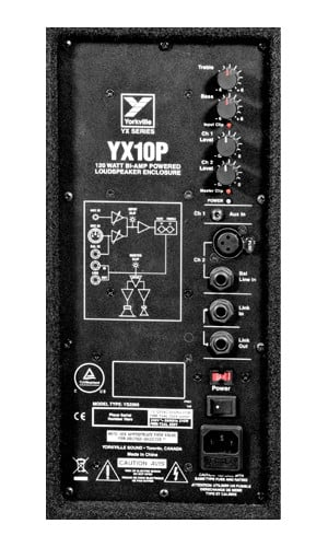 YX Series 10 in. 170 Watt Powered Loudspeaker