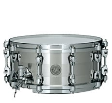 "6x14"" Starphonic Stainless Steel Snare Drum"