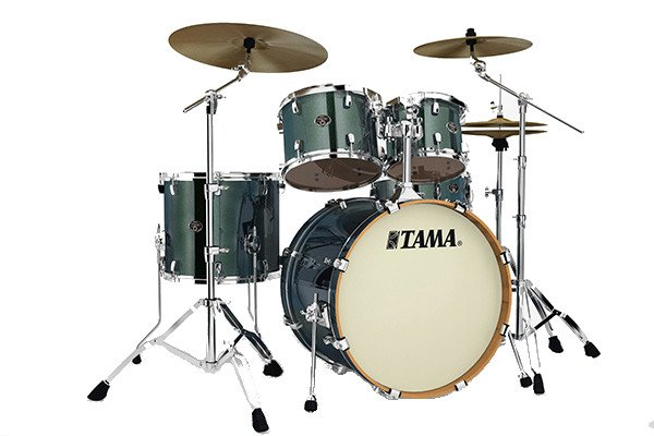 5-Piece Silverstar Shell Pack with Hardware in Chameleon Sparkle