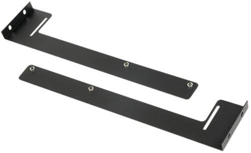 2 Space Rear Rack Rail Support Bracket for SH Series Rack Shelves