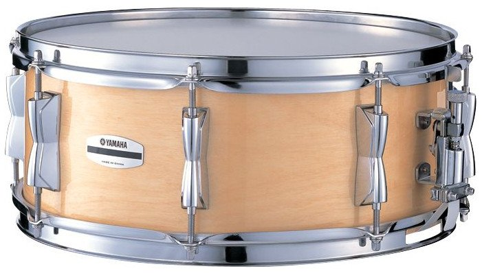 "5.5"" x 14"" Stage Custom Birch Snare Drum in Natural Birch"