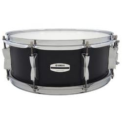 "5.5"" x 14"" Stage Custom Birch Snare Drum in Raven Black"