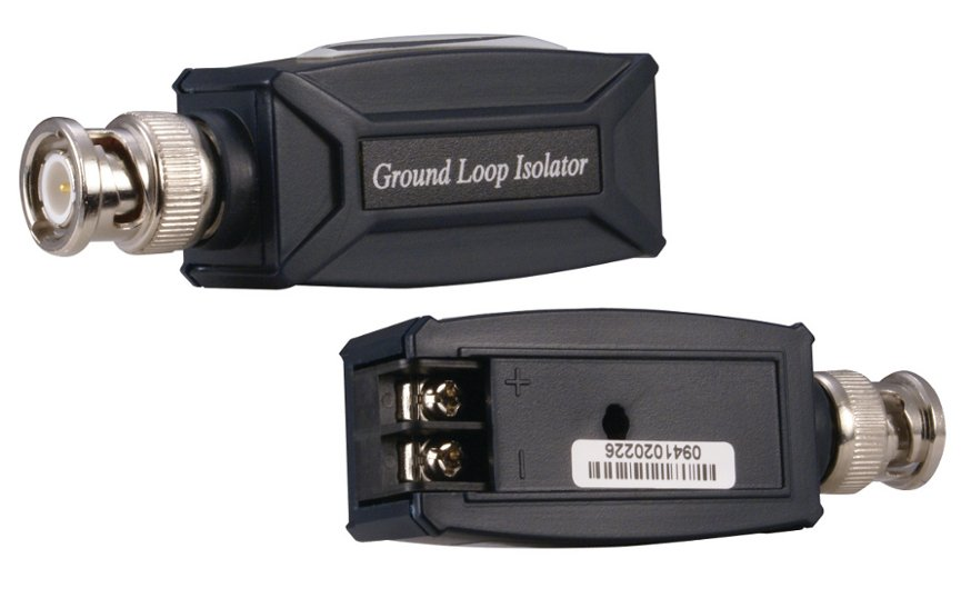 Ground Loop Isolator with Built-In Video Balun
