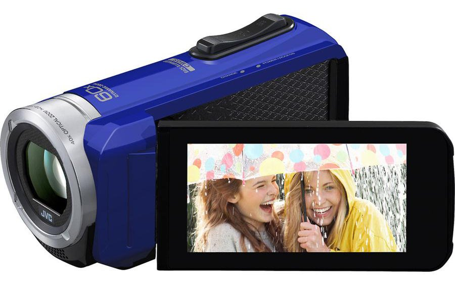 Quad Proof Full HD Camcorder in Blue