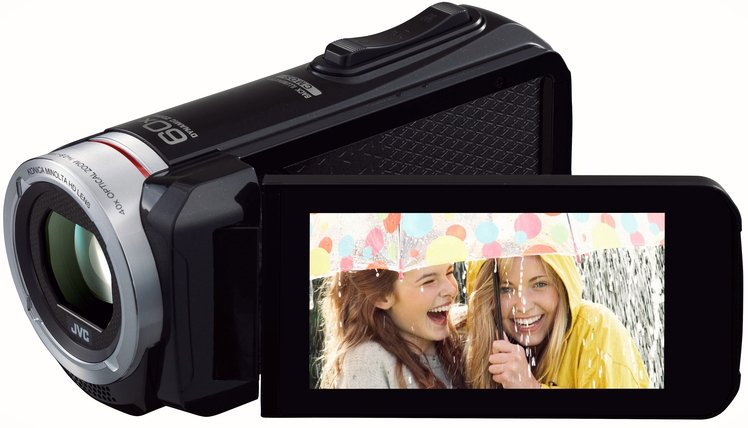 JVC GZ-R30B Quad Proof Full HD Camcorder with 8GB Built-In Memory in Black GZR30BUS