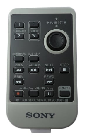 Sony 147957014  Remote for PMWEX3 147957014
