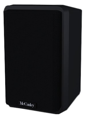 "2-Way Passive Full-Range Installation Loudspeaker with 5.25"" Driver in Black"