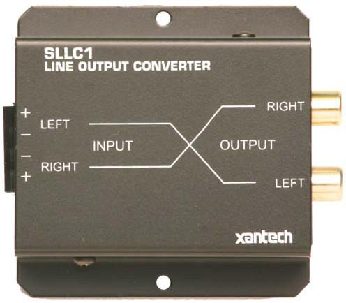 Speaker Level to Line Level Converter