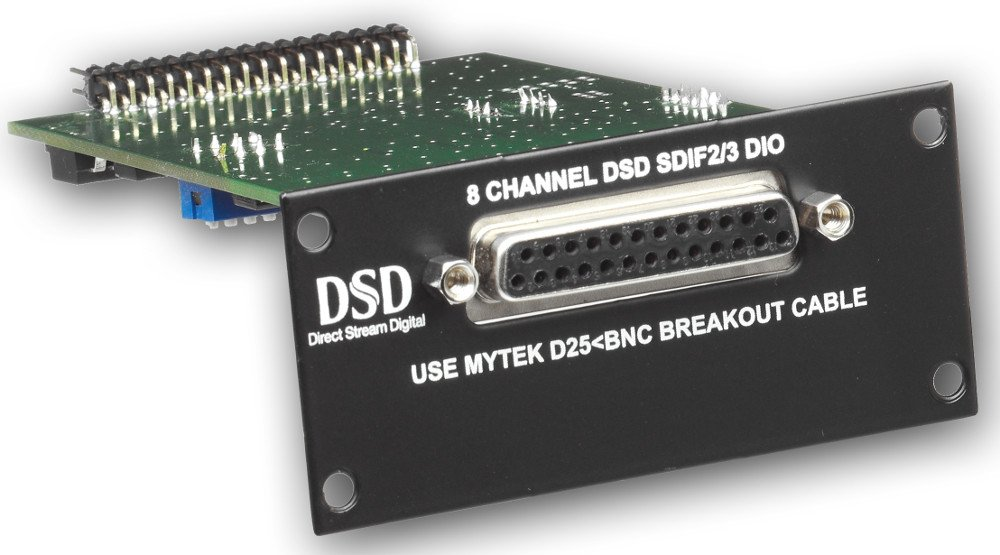 Digital Audio Converter Card for Mytek 8X192ADDA