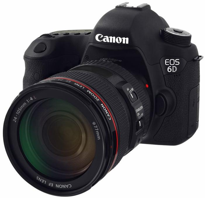 20.2 MP Digital SLR Camera Kit with EF 24-105MM IS USM Lens