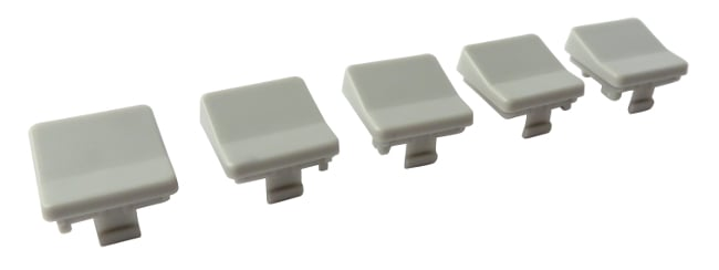 Grey Button Cap for NSI 400CP and 408CP (5 Pack)