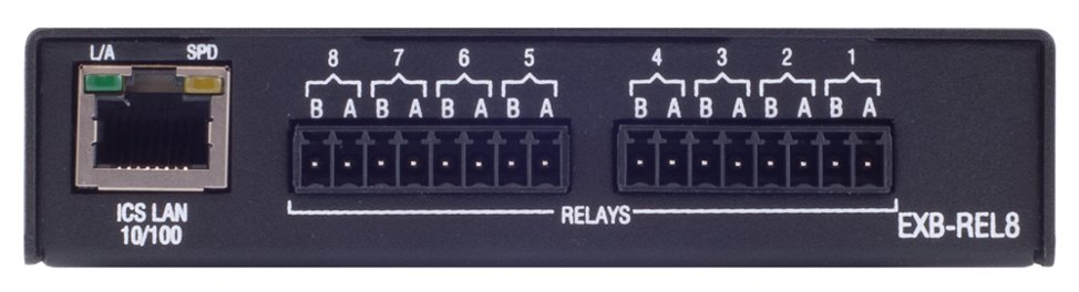 ICSLan Relay Interface - 8 Channels