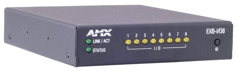 AMX EXB-I/O8 ICSLan Input/Output Interface - 8 Channels FG2100-21