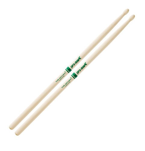 5A The Natural Hickory Drumsticks with Wooden Tip