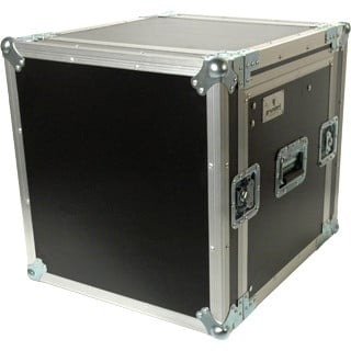 Grundorf Corp PRO-TR1418C  Pro Series Top Load Rack Case with Casters, 10RU Ratchet Top, 14RU Bottom PRO-TR1418C