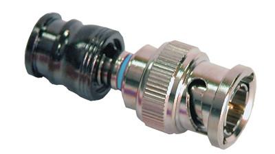 C-Tec2 Mini-RG59 Solid BNC Plugs for Single or Dual shield formats