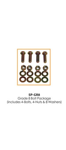 Show Solutions Inc SP-GR8 Grade 8 Bolt Package SPGR8