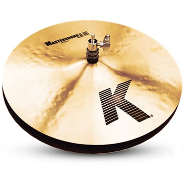 "Pair of 14"" K Mastersound Hi-Hats"