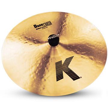 """16"""" K Dark Medium Thin Crash Cymbal"""